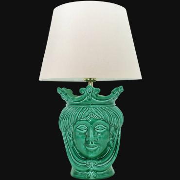 Sicilian ceramic lamp
