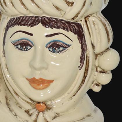Ceramic head h 20 Ivory Line female