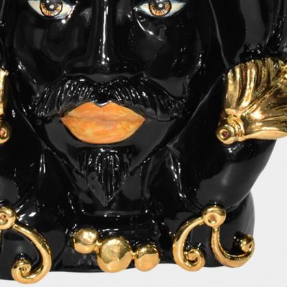 """Sicilian ceramic """"Moor's head"""" from Caltagirone."""