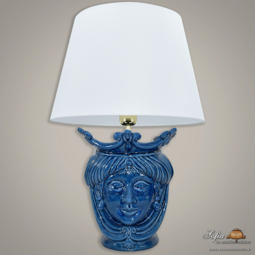 Modern Sicilian ceramic lamp