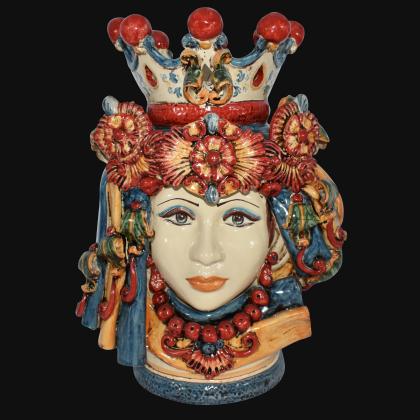 Ceramic Head h 50 blu/orange female